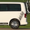 Vinilo furgoneta camper, Montaña escarpada furgo