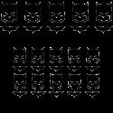 Pack de vinilos superheroes batman