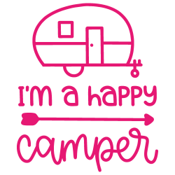 Vinilo furgoneta camper happy