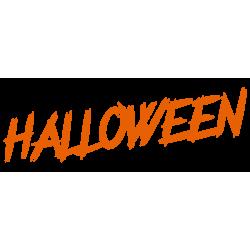 vinilo halloween texto escaparate ejemplo