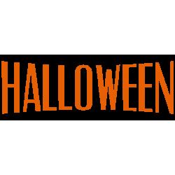 vinilo halloween texto escaparate clásico ejemplo