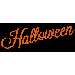 vinilo halloween texto escaparate moderno ejemplo