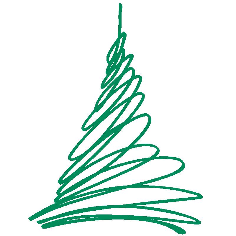 Vinilos navidad vinilo rbol navidad para escaparate - Arbol navidad moderno ...