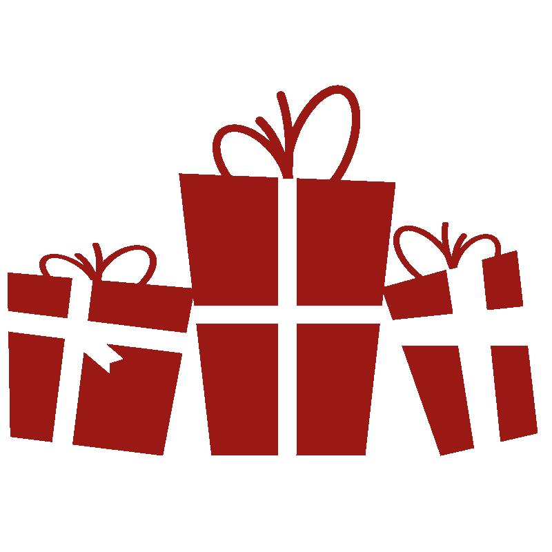 Vinilos cajas regalos de navidad para escaparate negocio for Vinilos pared navidad