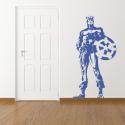 Vinilo Capitán América retro pared