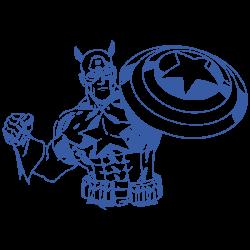 Vinilo Capitán América vintage