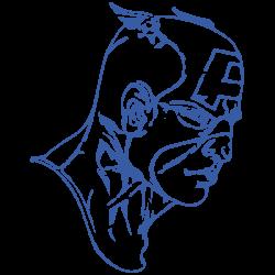 Vinilo Capitán América casco cómic
