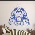 Vinilo Capitán América clásico pared