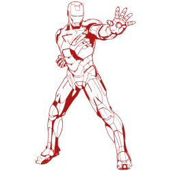 Vinilo Ironman clásico
