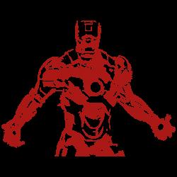 Vinilo Ironman oscuro