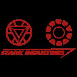 Vinilo Ironman logotipo